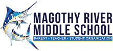 Magothy River Middle School PTSO Logo